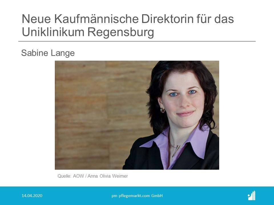 Neue Kaufmännische Direktorin für das Uniklinikum Regensburg