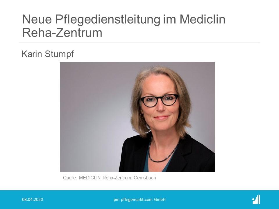Neue Pflegedienstleitung im MEDICLIN Reha-Zentrum Gernsbach