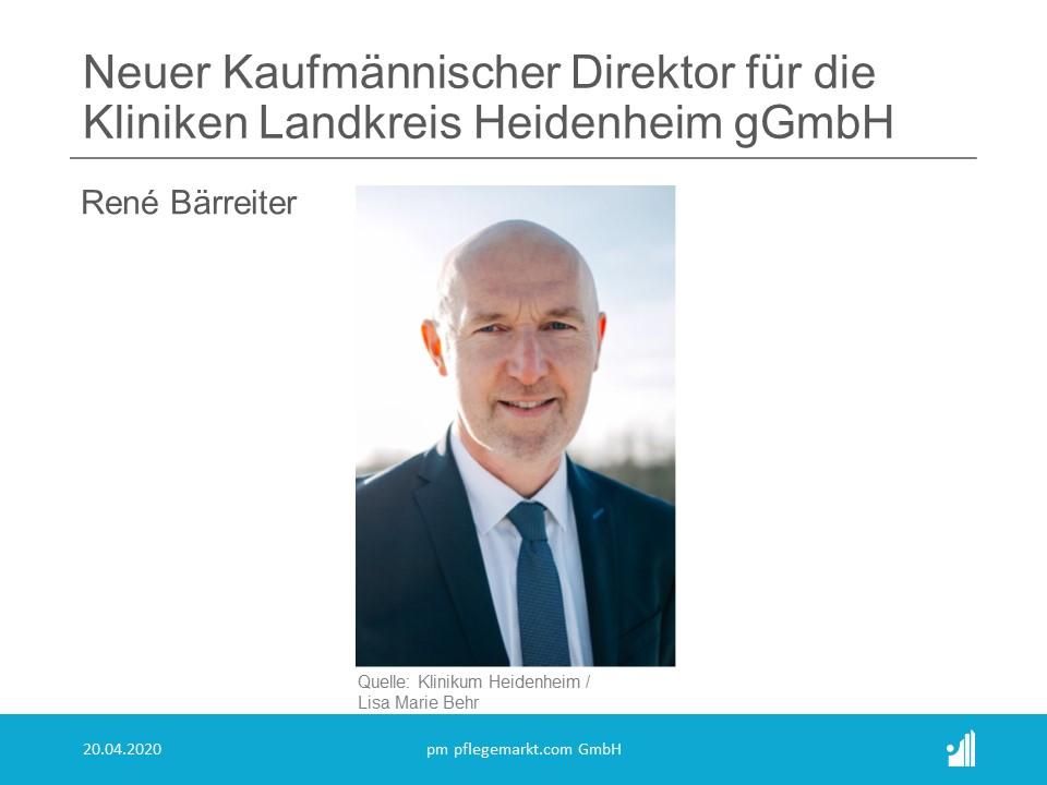 Neuer kaufmännischer Direktor Heidenheim