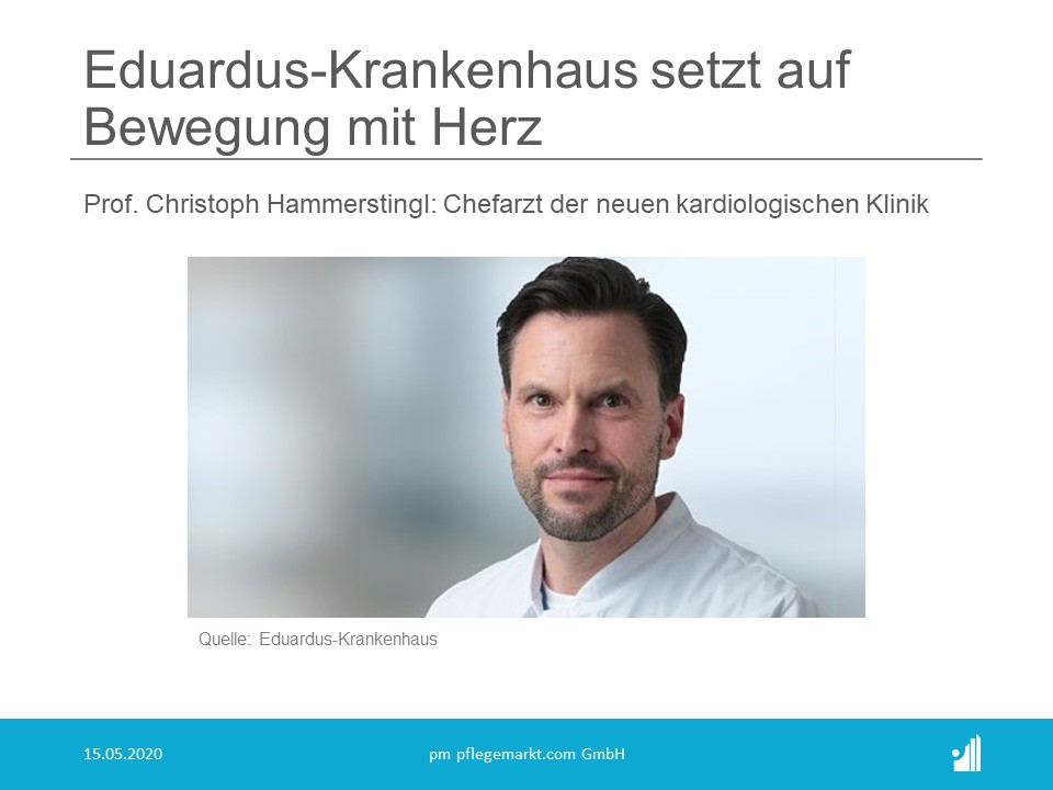Eduardus-Krankenhaus setzt auf Bewegung mit Herz