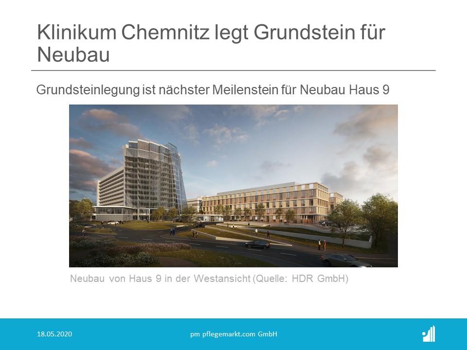 Klinikum Chemnitz legt Grundstein für Neubau