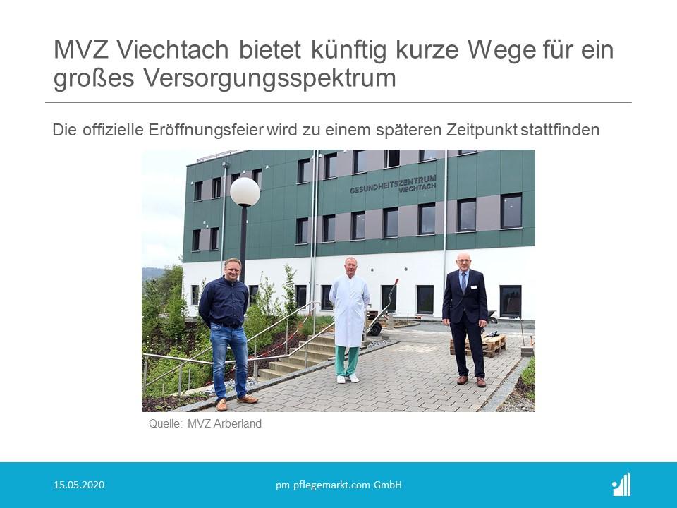 MVZ Viechtach bietet künftig kurze Wege für ein großes Versorgungsspektrum