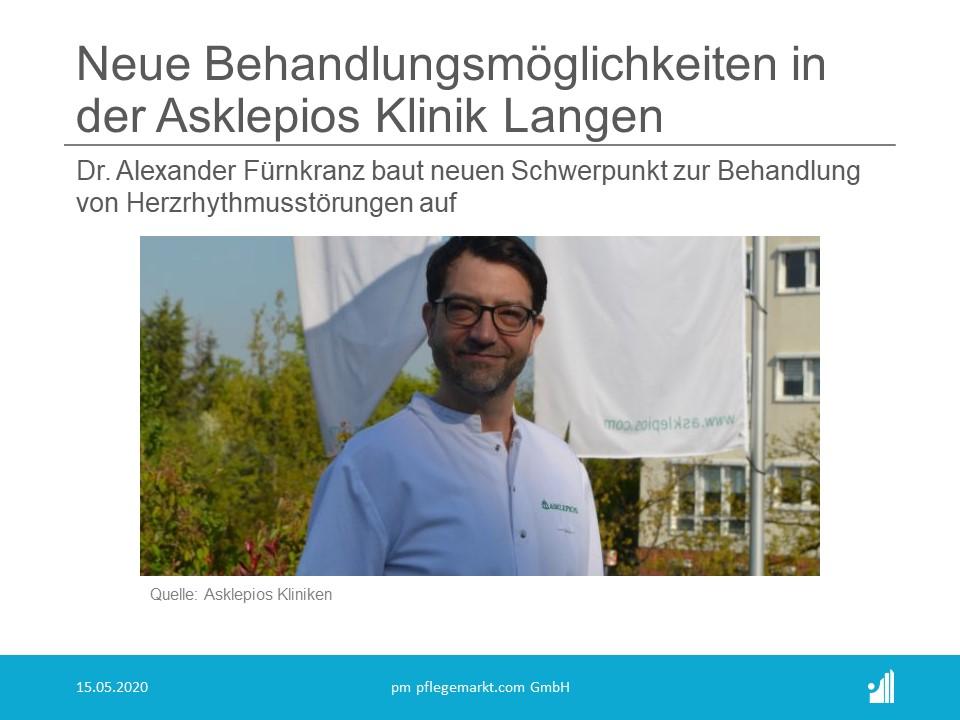 Neue Behandlungsmöglichkeiten in der Asklepios Klinik Langen