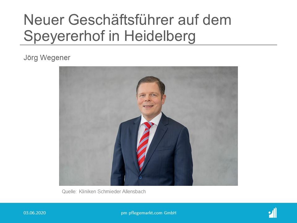 Neuer Geschäftsführer auf dem Speyererhof in Heidelberg